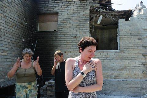 Донбасс подвергся ночному обстрелу