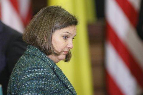 Нуланд и Сурков договорились усилить давление на Украину