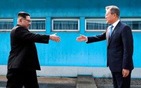 Лидеры КНДР и Южной Кореи встретились. США и Китай помогли. Россия — ни причем
