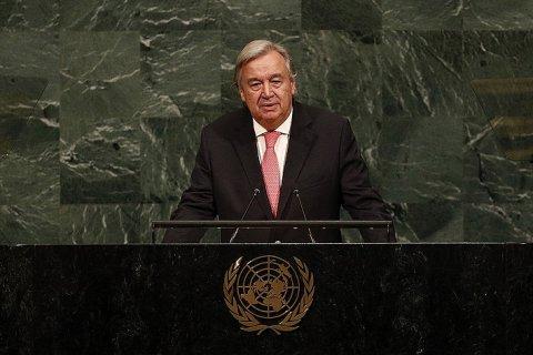 Генсек ООН объявил красную тревогу