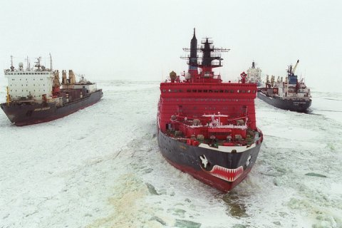 Россия создаст арктический флот из ледоколов