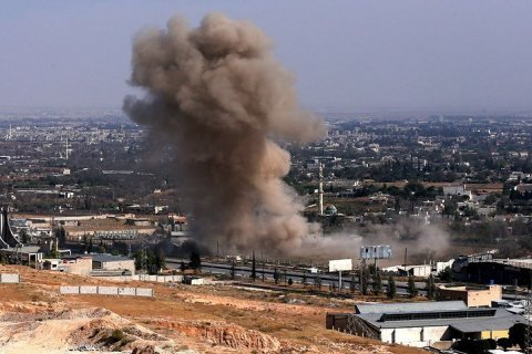 Минобороны России обвинило бельгийские ВВС в ударе по пригороду Алеппо. Подробности