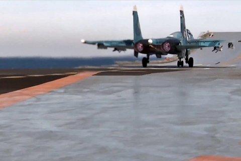 Авиакрыло крейсера «Адмирал Кузнецов» уничтожило десятки боевиков в Сирии