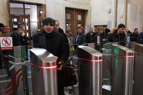 Метро потратит почти 1 млрд рублей на замену турникетов