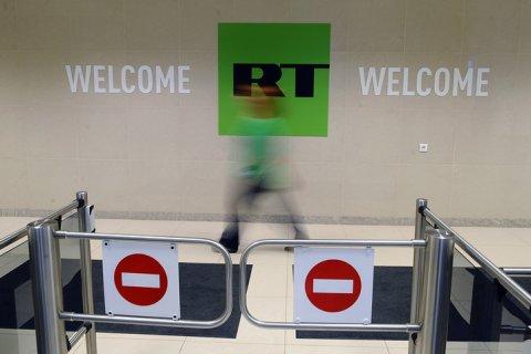 Телеканал RT зарегистрировался в США в качестве иностранного агента и сообщил, что ему не известно, кто его финансирует