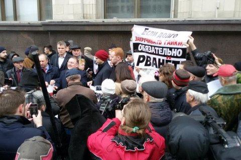У Госдумы прошла встреча депутатов фракции КПРФ с избирателями