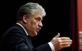 Павел Грудинин: Власть взяла курс на ликвидацию бесплатной медпомощи