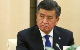 Президент пообещал борьбу с коррупцией без снисхождения к друзьям… в Киргизии