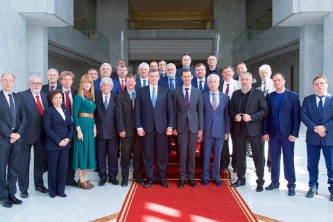 Совместная поездка депутатов Госдумы и ПАСЕ в Сирию. Подробности
