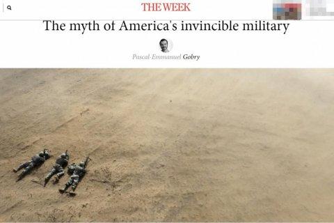 Иносми: «Непобедимость» американской армии может оказаться мифом