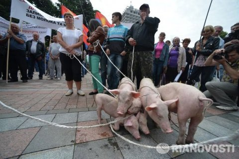Аграрии Украины готовят забастовку
