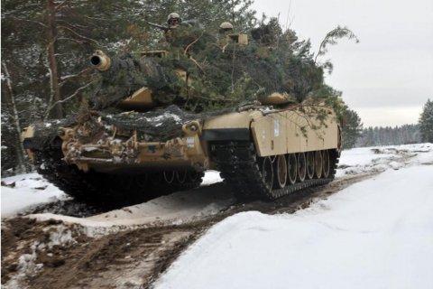Кроме Польши, американские танки останутся в Латвии, Литве и Эстонии