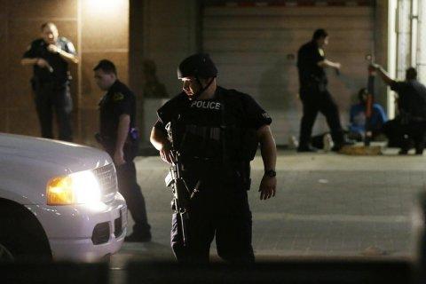 Стрельба в Далласе. Видео