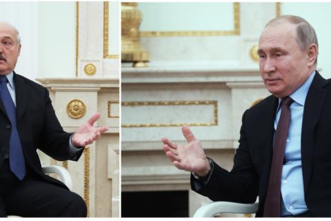 Кремль признал противоречия с Белоруссией