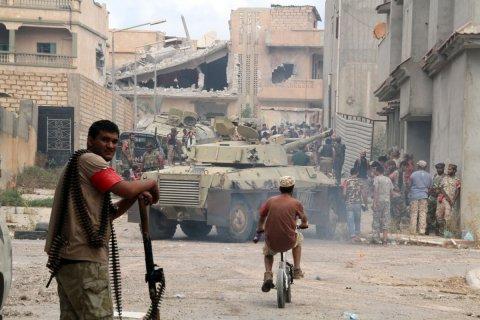 Ливия попросила Россию о проведение военной операции