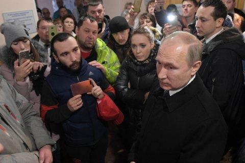 Путин о причинах пожара в Кемерово: Собственник ни при чём, виновата халатность и коррупция