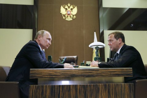 По указу Путина, в правительстве будет 10 вице-премьеров и 22 министра