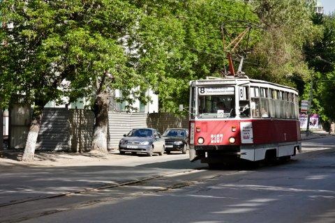 В Саратове из-за долгов отключили городской электротранспорт