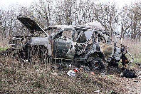 Патрули мониторинговой миссии ОБСЕ приостановили работу в ЛНР после подрыва автомобиля