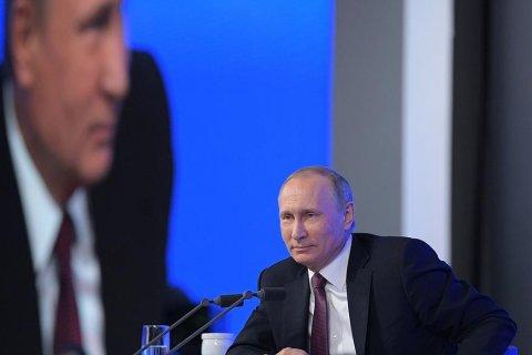 ВЦИОМ: уровень доверия Путину вырос до годового максимума