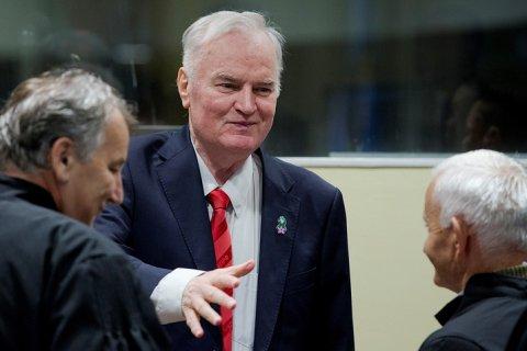 Сербского генерала Ратко Младича приговорили к пожизненному заключению