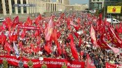 Митинг КПРФ против пенсионной реформы (02.09.2018)