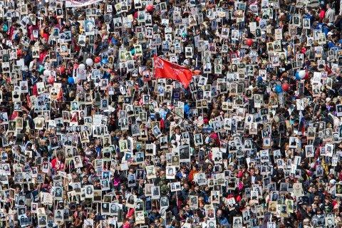 Почти 8 млн человек приняли участие в шествии «Бессмертный полк»
