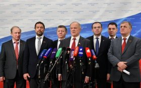 Геннадий Зюганов: С этой олигархией мы обязаны бороться
