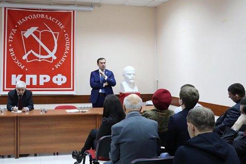 Юрий Афонин: КПРФ выдвинет кандидата на президентские выборы в конце декабря