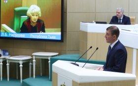 Турчак избран вице-спикером Совета Федерации. Против была только один сенатор