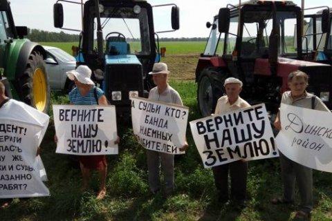 Участники тракторного пробега уличили Пескова во лжи
