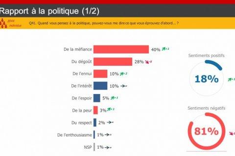 Три четверти французов считают политиков продажными