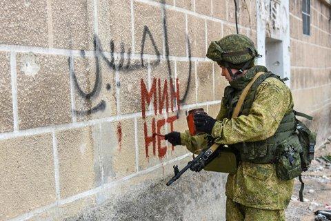 Песков допустил участие россиян-добровольцев в войне в Сирии
