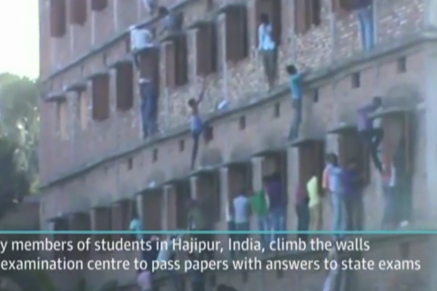 В Индии арестована отличница за ошибку на экзамене