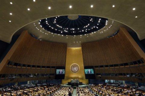 Генассамблея ООН приняла резолюцию Украины по Крыму
