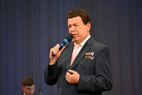 Иосиф Кобзон дал концерт для жителей Донецка