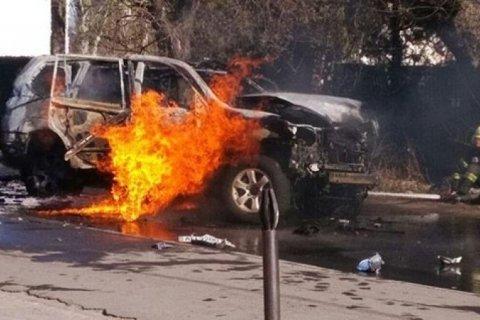 В Мариуполе взорвали полковника контрразведки