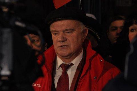 Геннадий Зюганов: «Помогали, и будем помогать своим друзья на Донбассе»