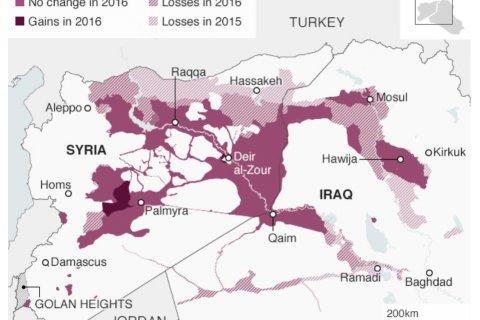 Боевики продолжают терять захваченные территории в Сирии и Ираке