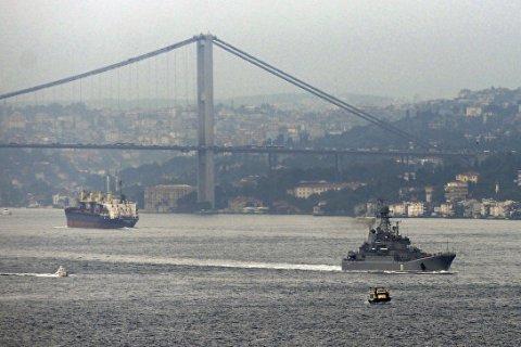 Турция предупредила об угрозе терактов против кораблей ВМФ России в Босфоре