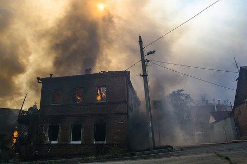 Пожар в Ростове-на-Дону. Подробности