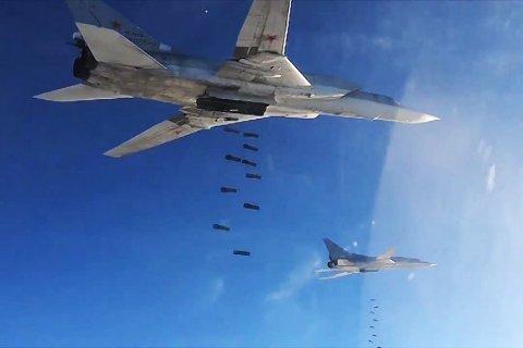Бомбардировщики Ту-22 нанесли пятый удар в Сирии