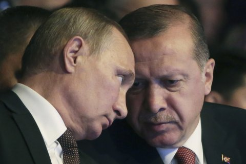 Эрдоган обвинил возглавляемый США альянс в поддержке боевиков в Сирии