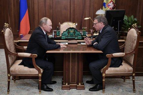 «Губернаторопад» в Омской области привел к справедливороссу