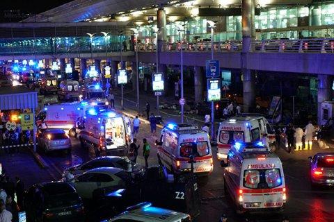 Теракт в аэропорту Стамбула. Подробности