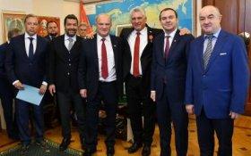 Геннадий Зюганов встретился с Председателем Госсовета и Совета министров Кубы Мигелем Диас-Канелем Бермудесом