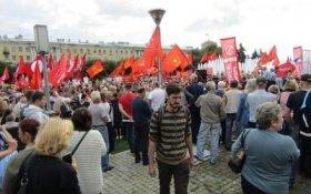 В Ленинградской области коммунисты провели массовые акции протеста против пенсионной «реформы»