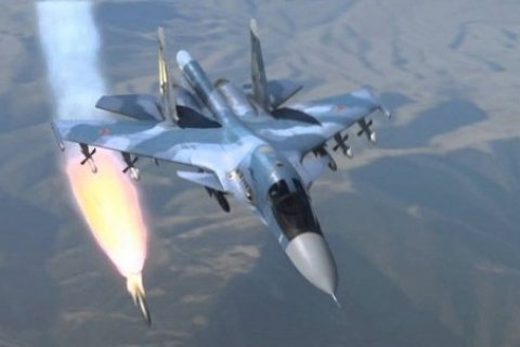 Российские самолеты нанесли удар по турецкой армии в Сирии