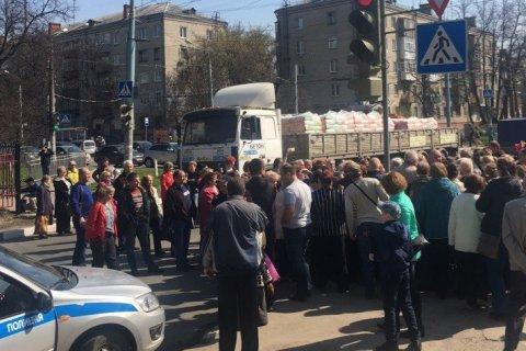 В Нижнем Новгороде жители перекрыли дорогу из-за повышения платы за ЖКХ