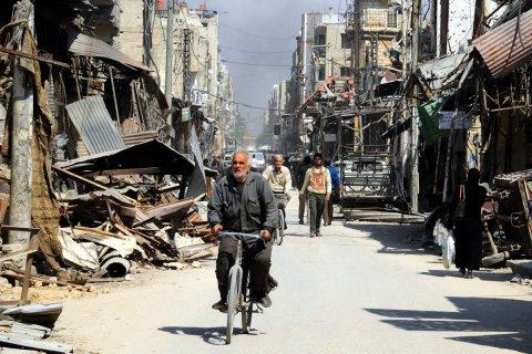 США утверждают, что РФ и Сирия «зачищают» место химатаки в городе Дума